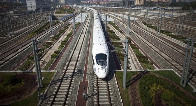 چین در روسیه قطار سریعالسیر میسازد