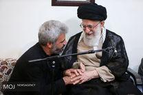 دیدار خانواده شهید محسن حججی با مقام معظم رهبری