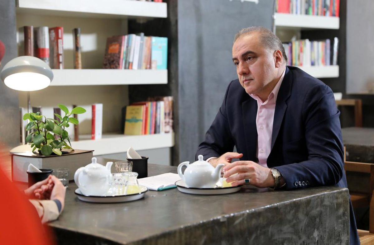 حضور فرهاد قائمیان و شقایق فراهانی در فیلم سینمایی «پریسان»