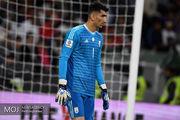 بیرانوند نامزد کسب عنوان بهترین پنالتی گیر فوتبال آسیا شد