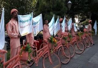 ترویج فرهنگ دوچرخه سواری در منطقه 6