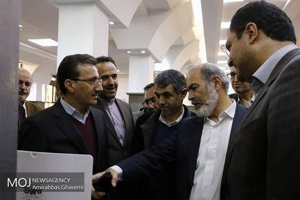 بازدید نمایندگان کمیسیون عمران مجلس از ایستگاه راه آهن تهران