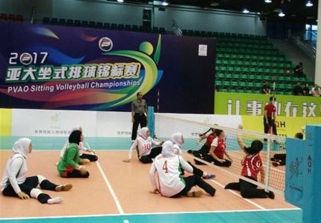 پیروزی تیم بانوان ایران مقابل قزاقستان