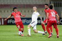 ساعت بازی شارجه امارات و تراکتور مشخص شد
