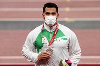 هجدمین مدال کاروان ایران در پارالمپیک توکیو/ پیروج به مدال نقره رسید