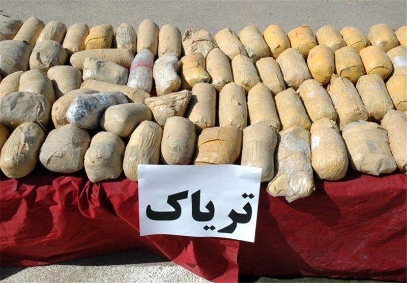 کشف 112 کیلو تریاک در اصفهان / دستگیری یک نفر توسط نیروی انتظامی