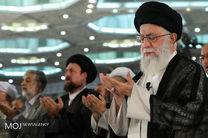 اقامه نماز عید سعید فطر به امامت مقام معظم رهبری
