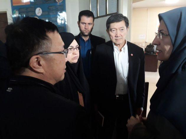 بازدید وزیر بهداشت تایلند از دو مرکز خدمات درمانی در اصفهان