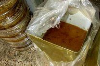 کشف و معدوم سازی 400 کیلوگرم عسل تقلبی در اصفهان