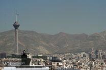 کیفیت هوای تهران ۲۵ تیر ۹۹/ شاخص کیفیت هوا به ۸۲ رسید