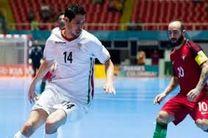 جاوید: تیم ملی فوتسال بازی به بازی بهتر می شود