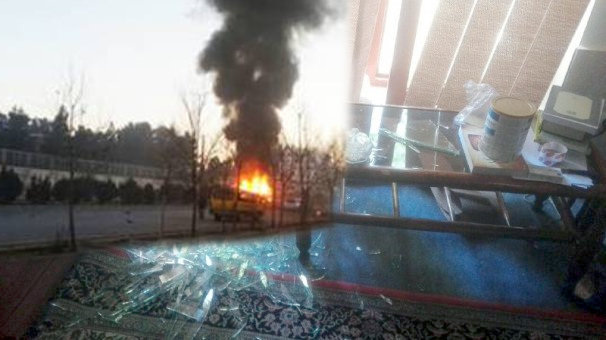 انفجار در نزدیکی دفتر خبرگزاری صداوسیما در کابل