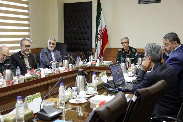 بیست و ششمین جلسه شورای عالی پدافند غیر عامل به ریاست سرلشکر باقری برگزار شد