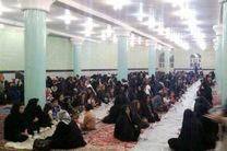 حضور ۴۰۰ مددجوی پلدختری بر سفره افطار نیازمندان