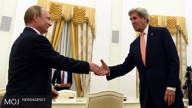 دیدار پوتین و کری با محوریت تشدید فشار بر داعش و النصره
