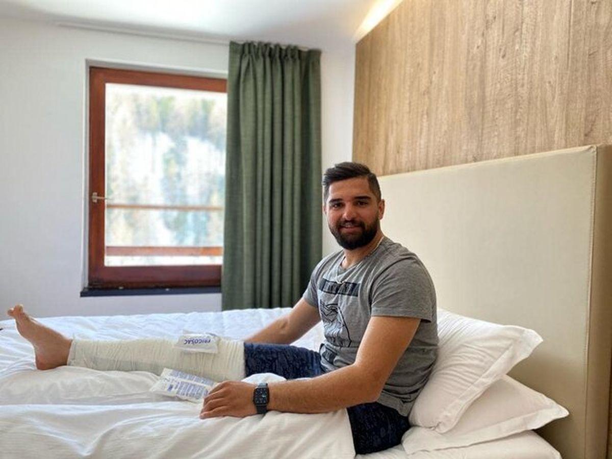 ملی پوش اسکی به دلیل مصدومیت قهرمانی جهان ایتالیا را از دست داد
