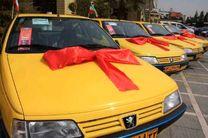 خروج 850 دستگاه تاکسی فرسوده شهر کرمانشاه از چرخه حملونقل