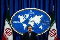 قاسمی: با دولت آمریکا هیچ ارتباطی نداریم/ آزمایش موشکی جدید در ایران را تکذیب میکنم