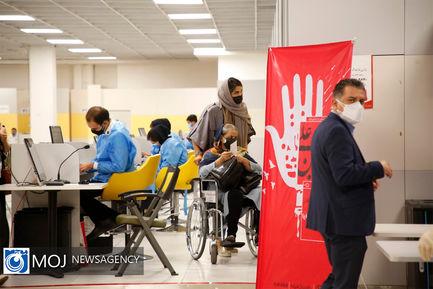 بازدید نماینده سازمان بهداشت جهانی از روند واکسیناسیون کرونا