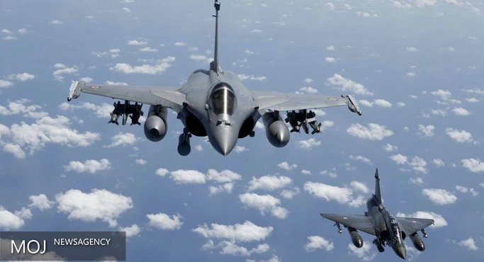 جنگنده های فرانسه مواضع داعش را بمباران کردند