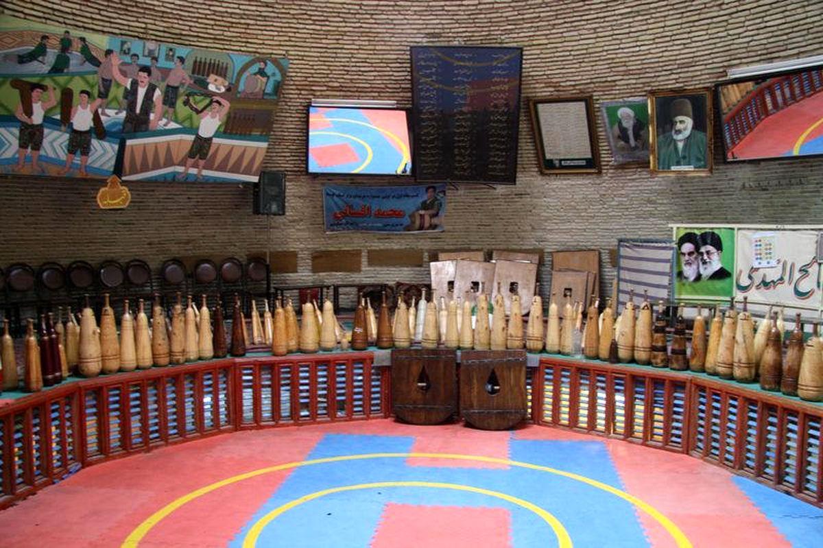 گرامیداشت روز فرهنگ پهلوانی و ورزشهای زورخانه ای در زندان مرکزی یزد
