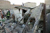 نشت و انفجار گاز موجب تخریب صد درصدی یک مجتمع 8 واحدی در اهواز شد/ تاکنون 15 کشته و مصدوم