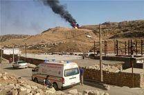 آتشسوزی خطوط لوله پلیاتیلن پلدختر عمدی نیست