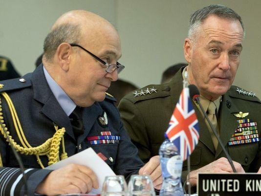 دانفورد: ناتو در عراق وارد شود/استولتنبرگ: تمایلی به حضور در سوریه و عراق نداریم