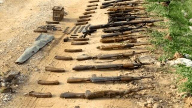 کشف مخفیگاه تروریست های داعش در استان الانبار عراق