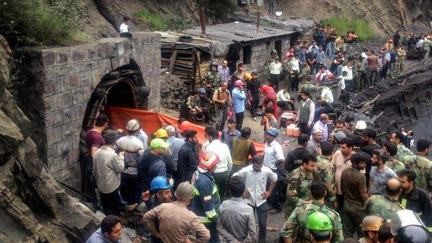 71 نفر در حادثه معدن آزادشهر مصدوم شدند