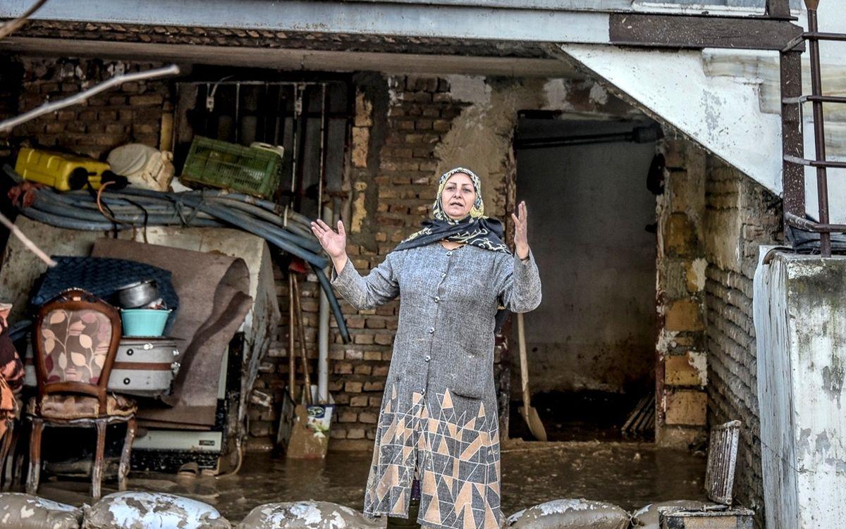 پرداخت کمک بلاعوض به خسارت دیدگان سیل مازندران