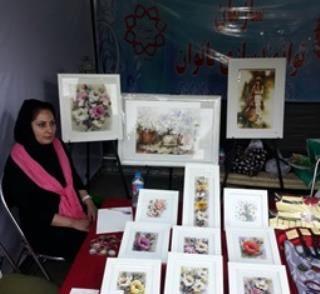 برپایی بازارچه توانمندسازی زنان سرپرست خانوار در بوستان لاله