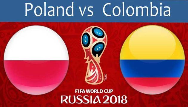 ساعت بازی لهستان و کلمبیا در جام جهانی