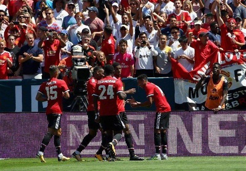 منچستریونایتد در ضربات پنالتی رئال مادرید را شکست داد