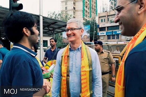 هند درها را روی اپل باز کرد