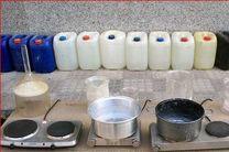 کشف ۲۷۰ لیتر پیش ساز مواد مخدر در کرمانشاه