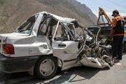 برخورد مرگبار پراید با کامیون