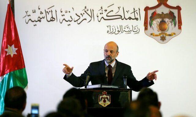 دولت اردن استعفا داد