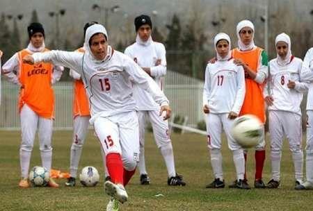 9 آذر آغاز اردوی تیم ملی فوتبال دختران