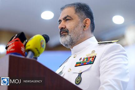 اولین نشست خبری فرمانده نیروی دریایی ارتش