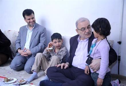 دیدار استاندار قم با خانواده های تحت پوشش کمیته امداد