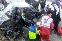 واژگونی یک دستگاه پژو در منطقه سرخآباد سوادکوه/یک نفر کشته و 3 نفر مصدوم شدند