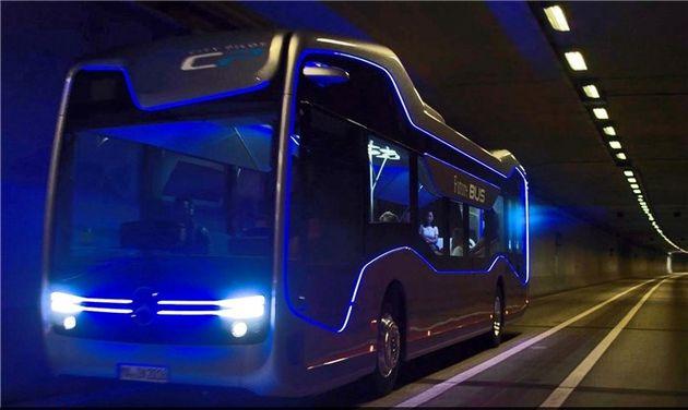 نخستین اتوبوس خودران جهان طراحی شد