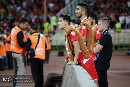 حاشیه دیدار تیم های فوتبال پرسپولیس ایران و الدحیل قطر