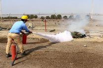 برگزاری مانور مشترک اطفا حریق در منطقه خلیج فارس