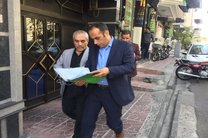 طاهری از پاسخ به سوالات خبرنگاران امتناع کرد