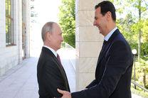 رایزنی روسیه با رئیس جمهور سوریه در مورد تنش های شمال این کشور
