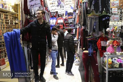 حال و هوای بازار تهران در روز پایانی سال ۱۳۹۷