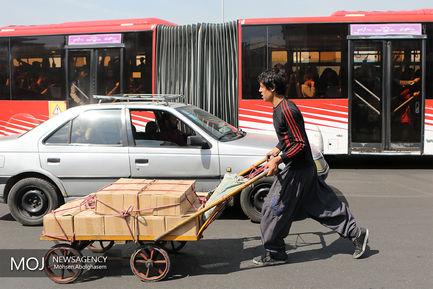 چرخی های بازار تهران