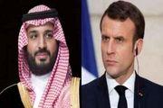 رایزنی تلفنی ولیعهد عربستان و رئیس جمهوری فرانسه